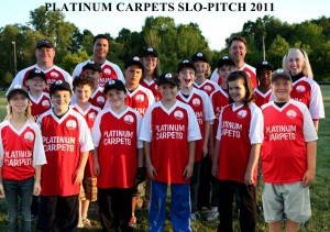 Platinum Carpets  2011 TEAM