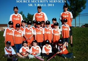 SOURCE SECURITY SR TBALL  2011 TEAM