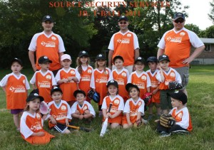 Source Jr. Tball  2011 TEAM