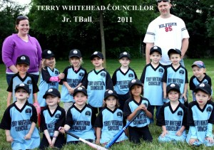 WHITEHEAD  2011 TEAM